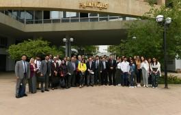 زيارة وفد من كلية العلوم الكيميائية جامعة كاتانيا بايطاليا